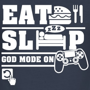 Eat Sleep PS Hoodies & Sweatshirts - Men's Slim Fit T-Shirt