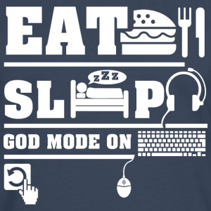 Eat Sleep PC T-Shirts - Men's Premium Longsleeve Shirt