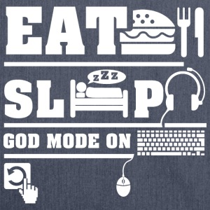 Eat Sleep PC T-Shirts - Shoulder Bag made from recycled material