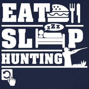 Eat Sleep Hunting Hoodies & Sweatshirts - Baseball Cap