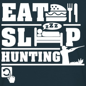 Eat Sleep Hunting Hoodies & Sweatshirts - Men's T-Shirt