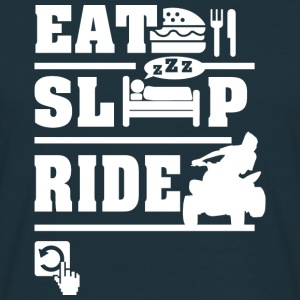 Eat Sleep Ride Hoodies & Sweatshirts - Men's T-Shirt