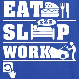 Eat Sleep Work  T-Shirts - Women's Tank Top by Bella