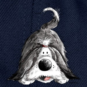 Funny Bearded Collie Mugs & Drinkware - Snapback Cap
