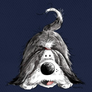 Rolig Bearded Collie Tröjor - Basebollkeps