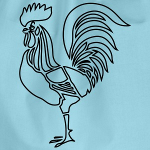 Cock witty stylized T-Shirts - Drawstring Bag