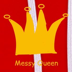 Messy queen - Contrast Colour Hoodie