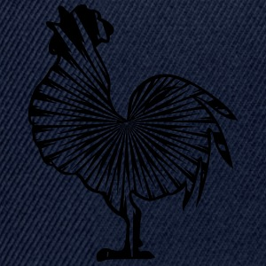Rooster crow design pattern T-Shirts - Snapback Cap
