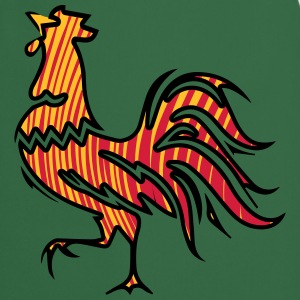 Rooster crow design T-Shirts - Cooking Apron