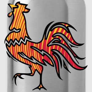 Rooster crow design T-Shirts - Water Bottle