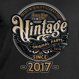 Day One Vintage since 2017 - Original Parts RAHMENLOS Birthday T-Shirts - Männer Sweatshirt von Stanley & Stella