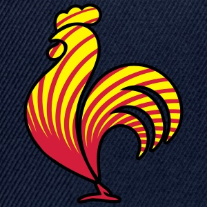 Rooster design pattern T-Shirts - Snapback Cap