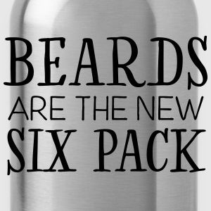 Beards Are The New Six Pack T-Shirts - Trinkflasche