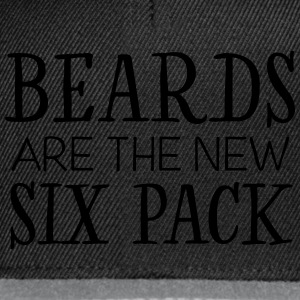 Beards Are The New Six Pack T-Shirts - Snapback Cap