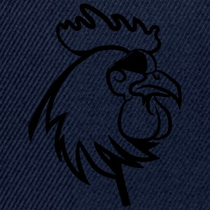 Rooster angry dangerous sunglasses T-Shirts - Snapback Cap