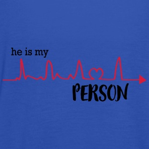 he_is_my_person T-Shirts - Women's Tank Top by Bella
