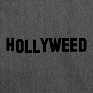 Hollyweed Black - Schultertasche aus Recycling-Material