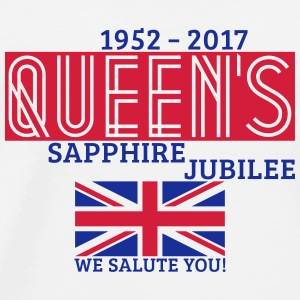 Queen's Sapphire Jubilee Other - Men's Premium T-Shirt