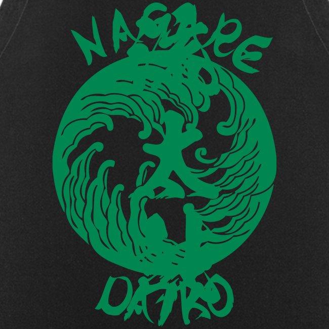 Nagare Daiko Männer Spreadshirt Premium Langarmshirt Flockdruck