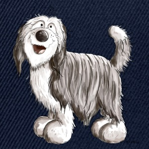 Söt Bearded Collie T-shirts - Snapbackkeps