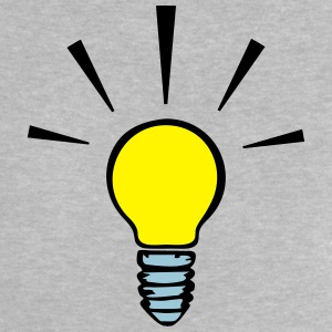 Light bulb - idea  (3 colors) Shirts - Baby T-Shirt