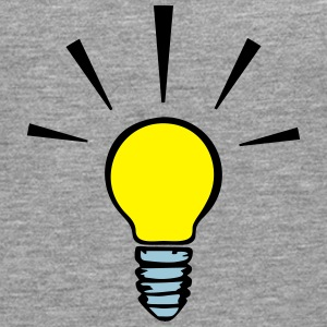 Light bulb - idea  (3 colors) Camisetas - Camiseta de manga larga premium hombre