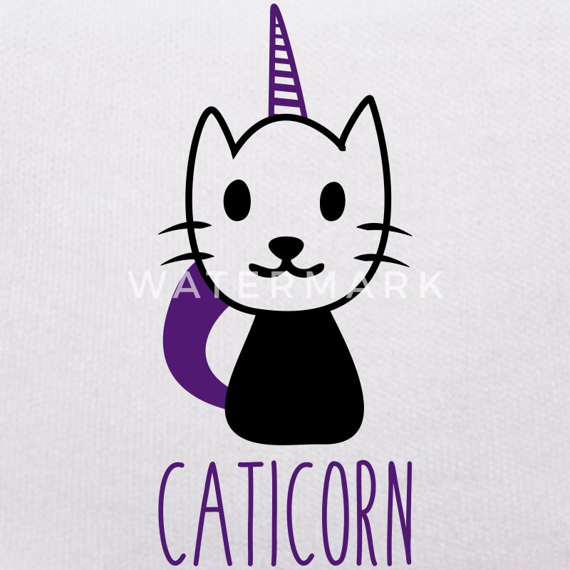 Caticorn : Chat licorne - Nounours