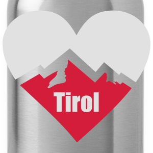 Tirol Alps Heart Hoodies & Sweatshirts - Water Bottle
