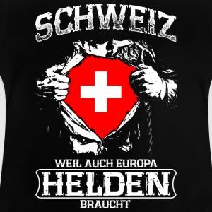 Suisse - heroes - Europe Tee shirts - T-shirt Bébé