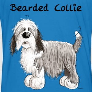 Happy Bearded Collie Hoodies & Sweatshirts - Men's Organic T-shirt