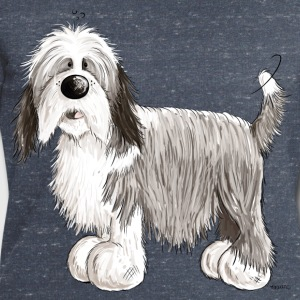 Bearded Collie Tee shirts - Sweat-shirt Homme Stanley & Stella