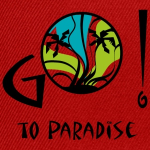 Go to paradise - Casquette snapback