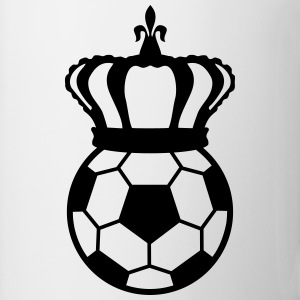 Football, Soccer King Felpe - Tazza