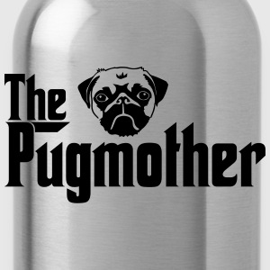 Pugmother Pug \Design for Dog Lovers T-Shirts - Water Bottle