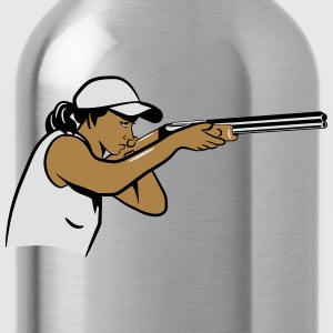 Protect your rifle targets T-Shirts - Water Bottle