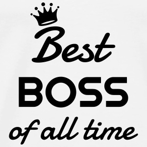 chef / boss / manager / jobb Babybody - Premium-T-shirt herr