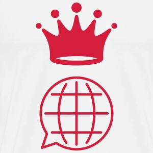 Interpreter Dolmetscher Translation Interprète  Aprons - Men's Premium T-Shirt