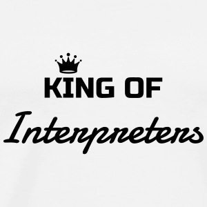 Interpreter Dolmetscher Translation Interprète Baby Bodysuits - Men's Premium T-Shirt