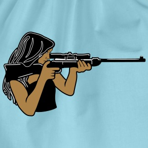 Protector rifle T-Shirts - Drawstring Bag