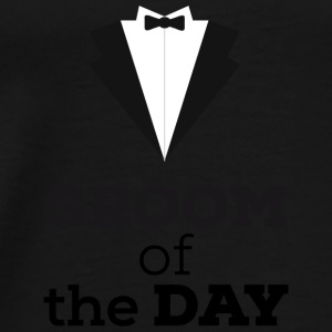 Groom of the day Bags & Backpacks - Men's Premium T-Shirt