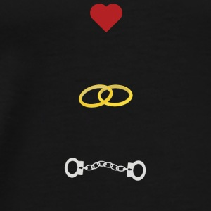 Love marriage problems Bags & Backpacks - Men's Premium T-Shirt