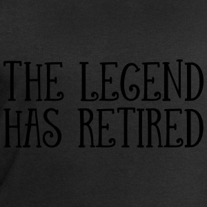 The Legend Has Retired T-Shirts - Men's Sweatshirt by Stanley & Stella