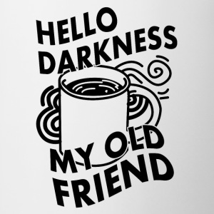 HELLO DARKNESS MY OLD FRIEND (KAFFEE) T-shirts - Kop/krus