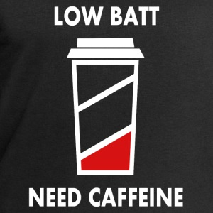 Low battery! I need caffeine! Baby Long Sleeve Shirts - Men's Sweatshirt by Stanley & Stella