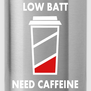 Low battery! I need caffeine! Baby Long Sleeve Shirts - Water Bottle