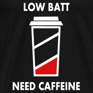Low battery! I need caffeine! Baby Long Sleeve Shirts - Men's Premium T-Shirt