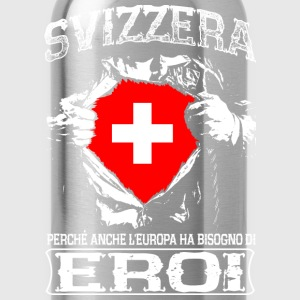 Svizzera - Eroi - Europa Long Sleeve Shirts - Water Bottle