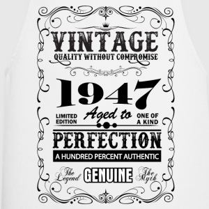 Premium Vintage 1947 Aged To Perfection T-Shirts - Cooking Apron