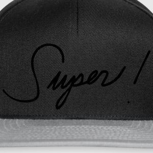 Super awesome great great mood statement T-Shirts - Snapback Cap