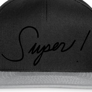 Super awesome great great mood statement Sports wear - Snapback Cap